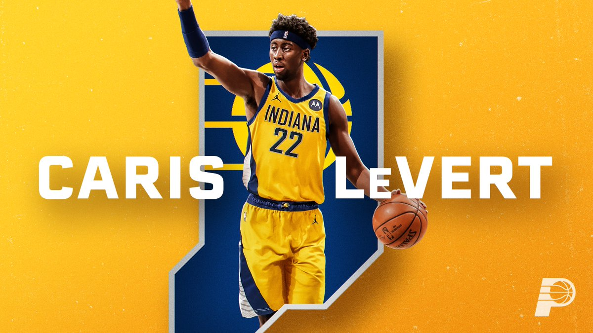 Join us in welcoming @CarisLeVert to Indiana ‼️  Let's get to work 😤 https://t.co/LgJPtBTKyU