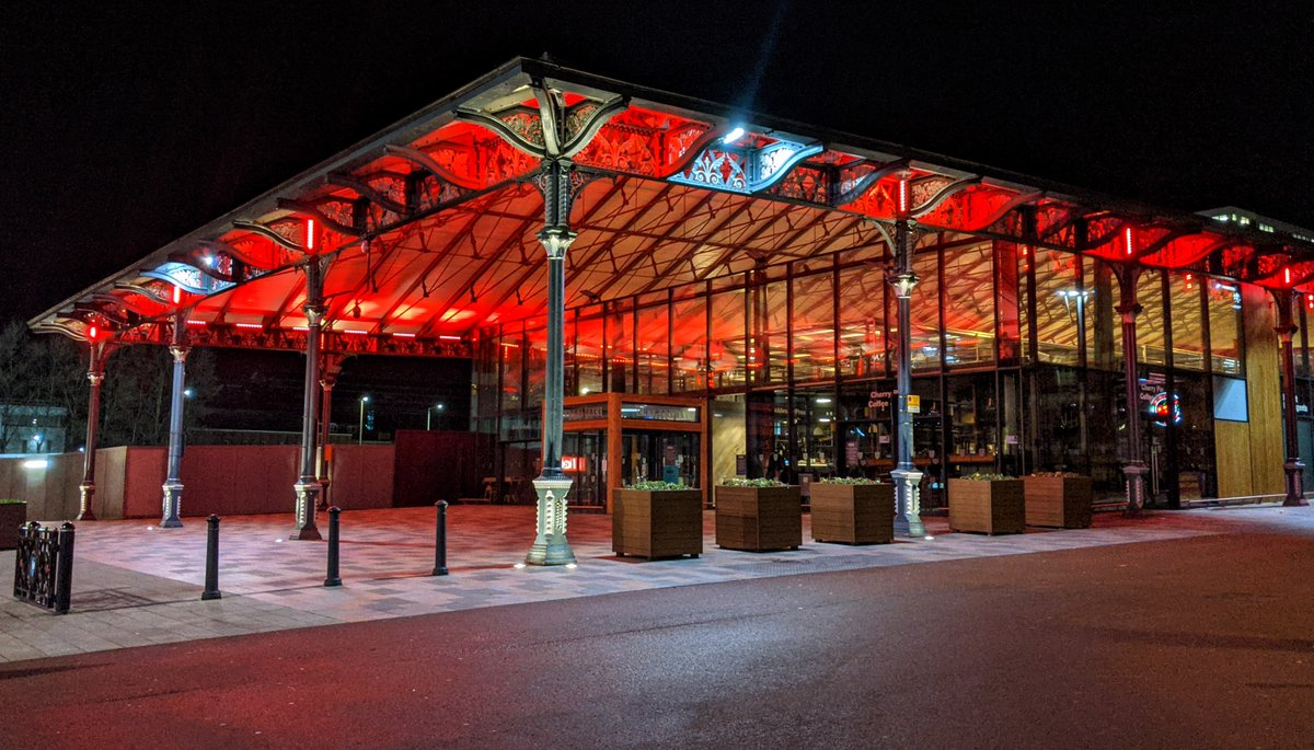 Beautiful colours of one of our heritage jobs @prestonmarkets, great photography @TonyWorrall1   #heritagearchitecture   #photography  #prestonmarkets