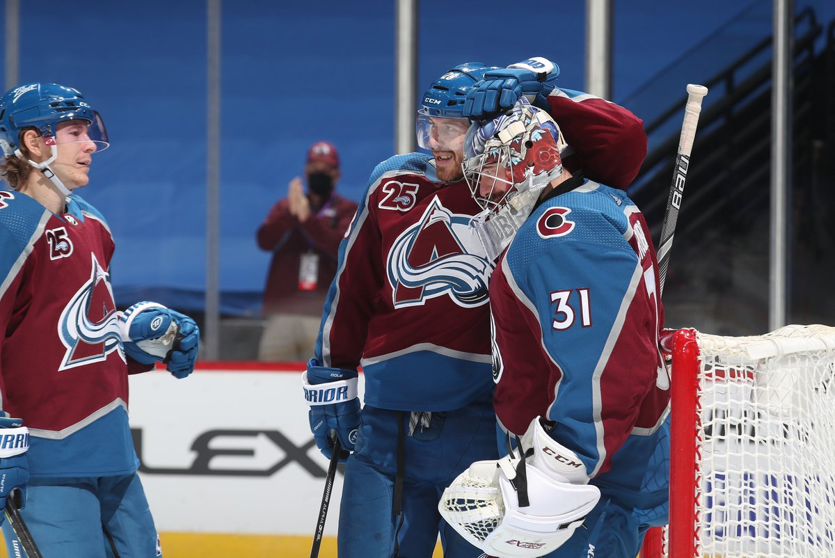"""Since it's an off day, let's play a game!  Go to your camera roll, and search """"hockey""""- and then post the first pic that comes up! We'll start.   #GoAvsGo"""