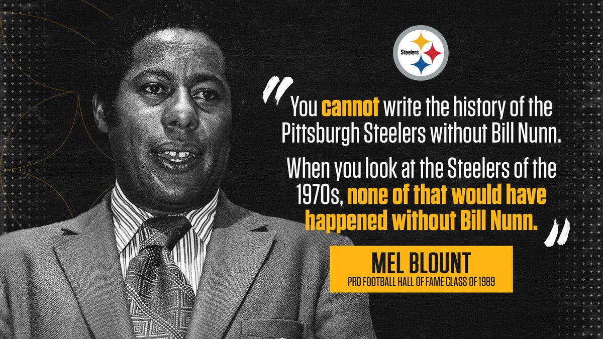 Mel Blount on why Bill Nunn should be part of the #PFHOF21 Class: