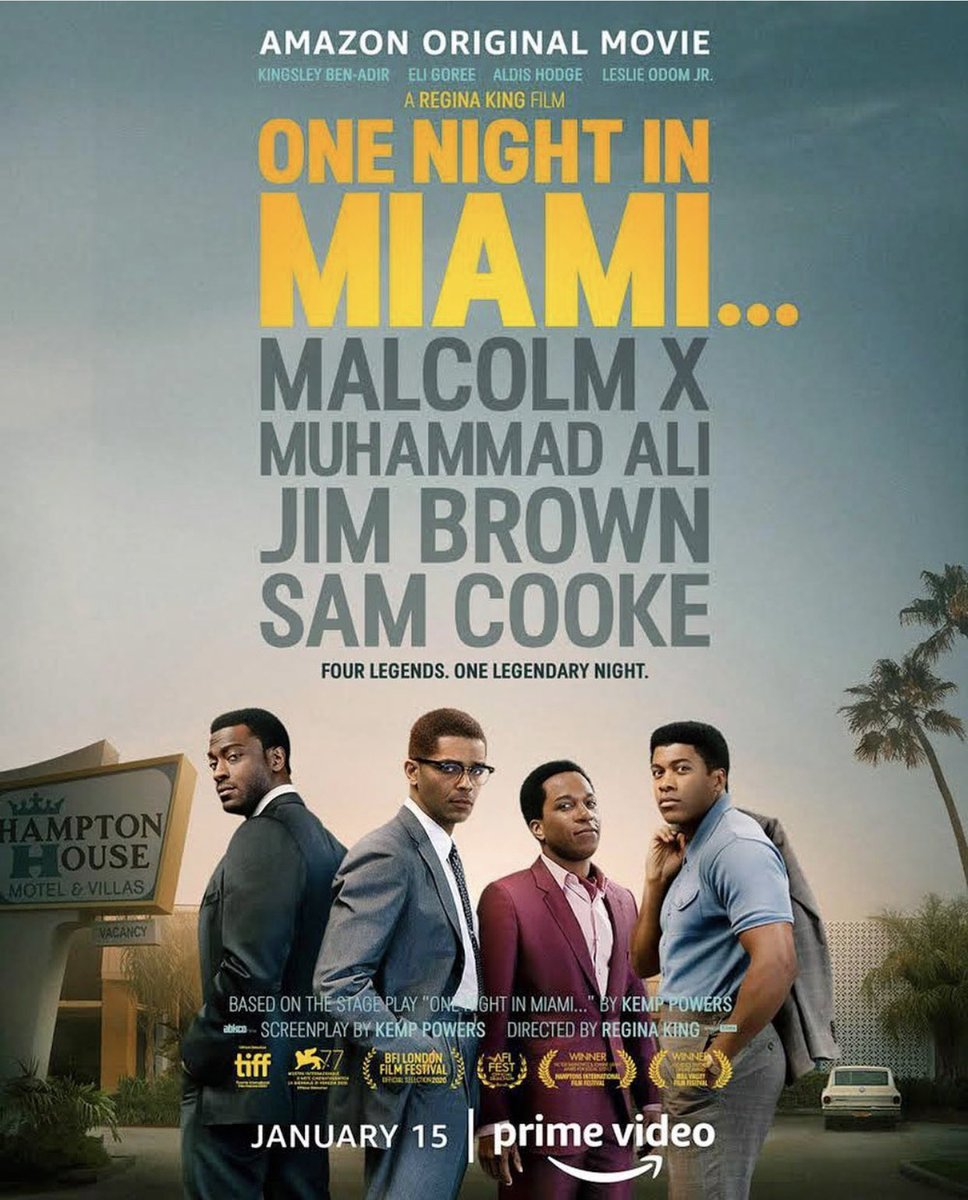 ive been obsessed with @ReginaKing for 3 decades & will literally watch anything her name is on.  so yes, watching this tonight! cant wait! 🍿 #OneNightInMiami
