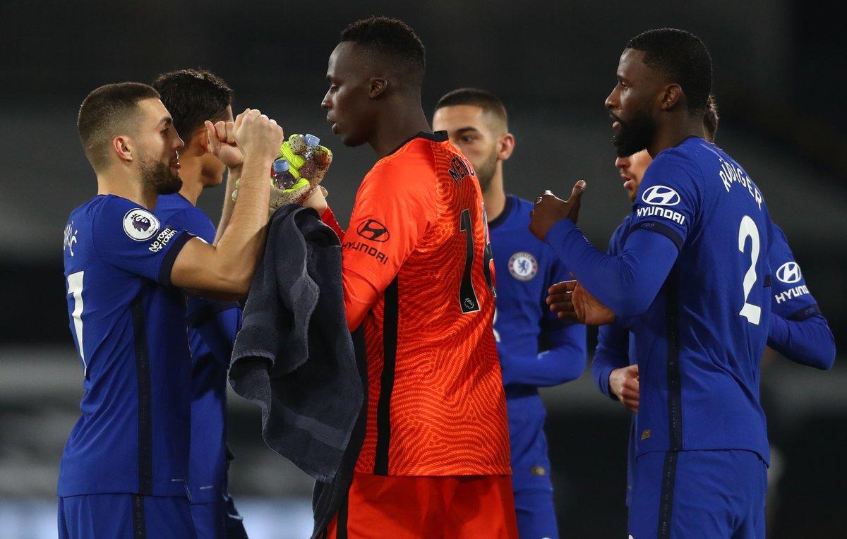 Otra valla invicta para el equipo 💪  Ya son 7️⃣ en esta Premier League 👏👏👏
