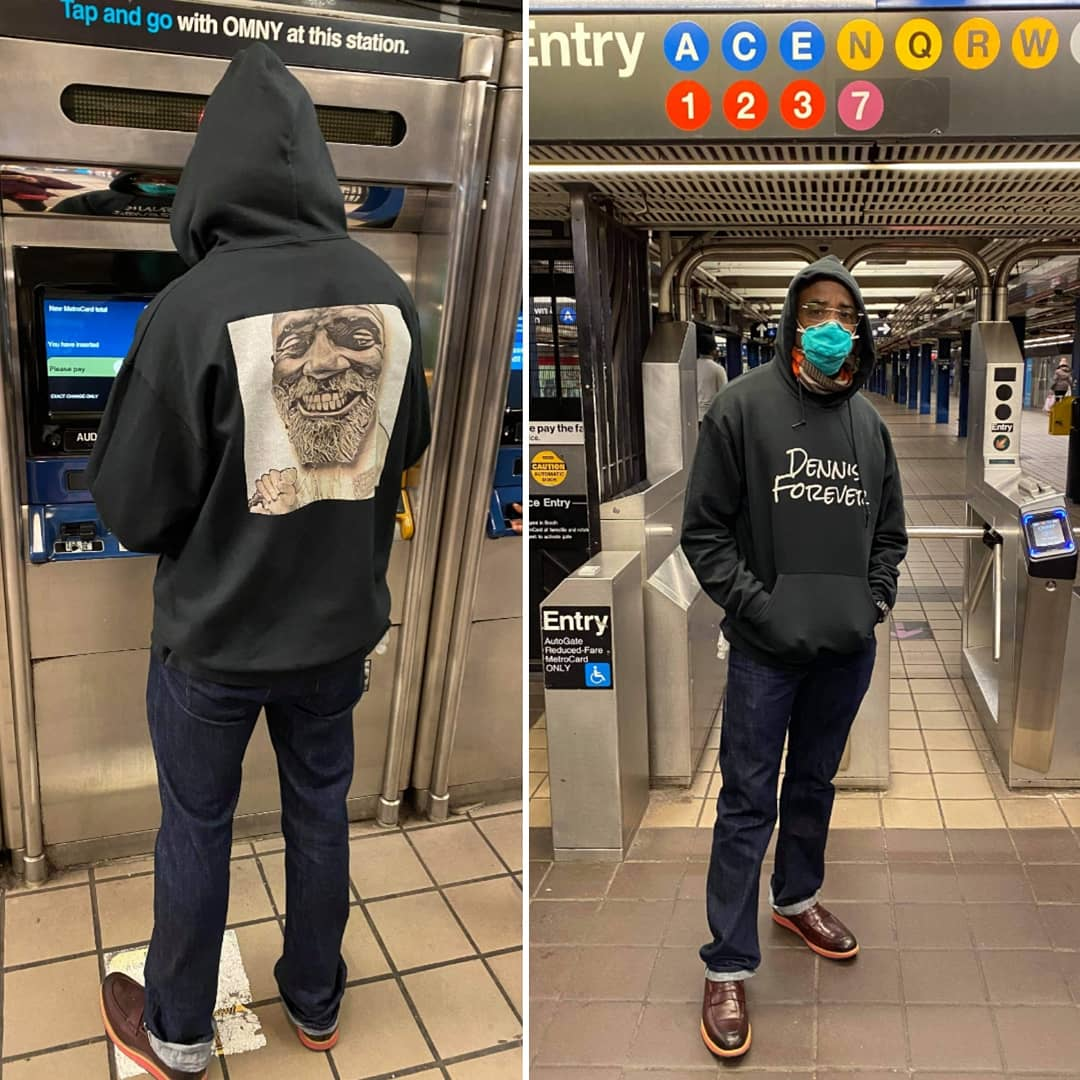 #MLKDay The DENNIS FOREVER Brand T-shirt startup #DennisForever #PoorPeoplesCampaign #GodzillavsKong #PowerTV