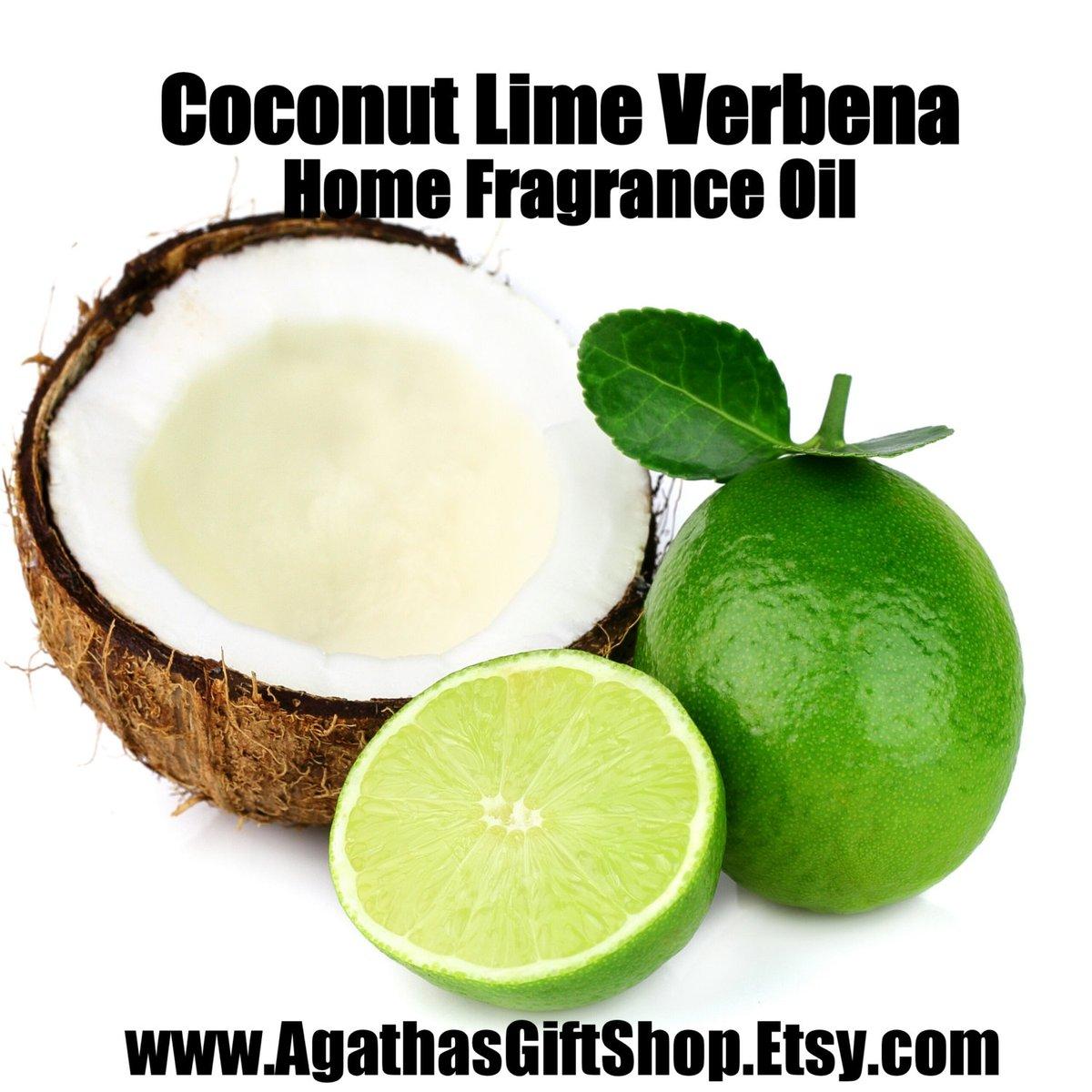 Coconut Lime Verbena (Type) Home Fragrance Diffuser Warmer Aromatherapy Burning Oil  #BlackFriday #GiftShopSale #HerbalRemedies #Etsy #AromatherapyOil #CyberMonday #PerfumeBodyOils #HomeFragranceOil #Incense #HomeDecor