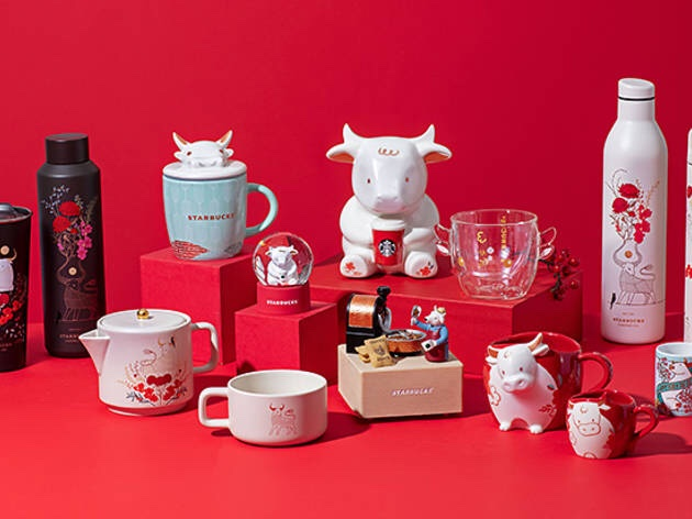 @tkaflash @PlayAdoptMe #OX Starbucks already is celebrating Chinese New Year 2021 with a Year of the Ox-themed collection / Sip your favourite morning brew with Starbucks' auspicious #CNY cup #ChineseNewYear