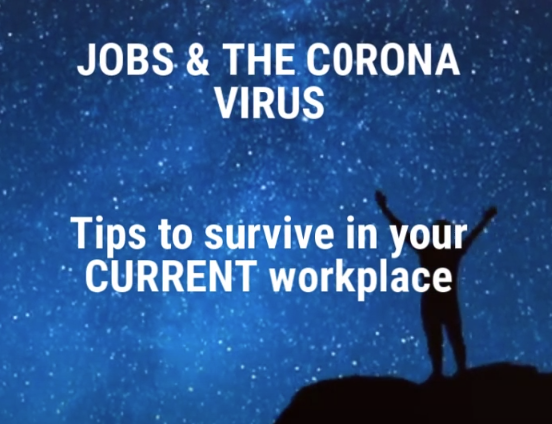 Our 60 second video provides tips on how to keep your job during the coronavirus crisis. https://t.co/aYzGTJf2ht #whynotbehappyatwork https://t.co/OtK6b0EaKB
