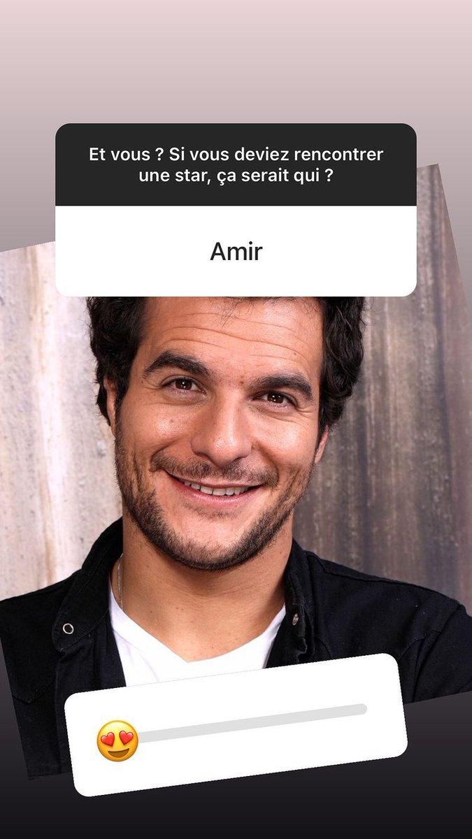 @Amir_Off ! @AgenceCassandra  #Story  Et vous? Si vous deviez rencontrer une star,  ce serait qui ? #Amir,  évidemment ! !👍😍❤