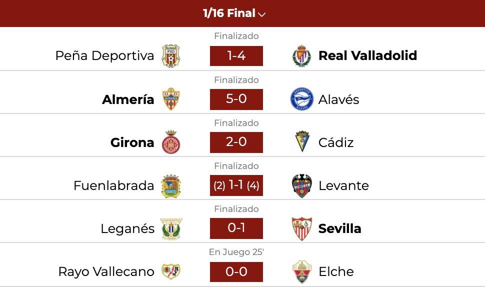 🚨 RESULTADOS #CopaDelRey  ➡️ El @SevillaFC se ha llevado el duelo en el Wanda Metropolitano y estará en los octavos de final  ℹ️ @CDLeganes 0-1 @SevillaFC  #LaCopaMola 🏆