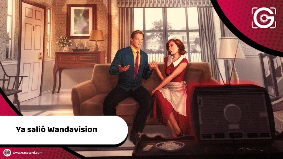 🎞️@disneyplus ha estrenado la tan esperada @wandavision de @MarvelStudios 🤩  Aquí te contamos de que se trata 👉   #WandaVision #DisneyPlus #Marvel #ScarletWitch #Vision