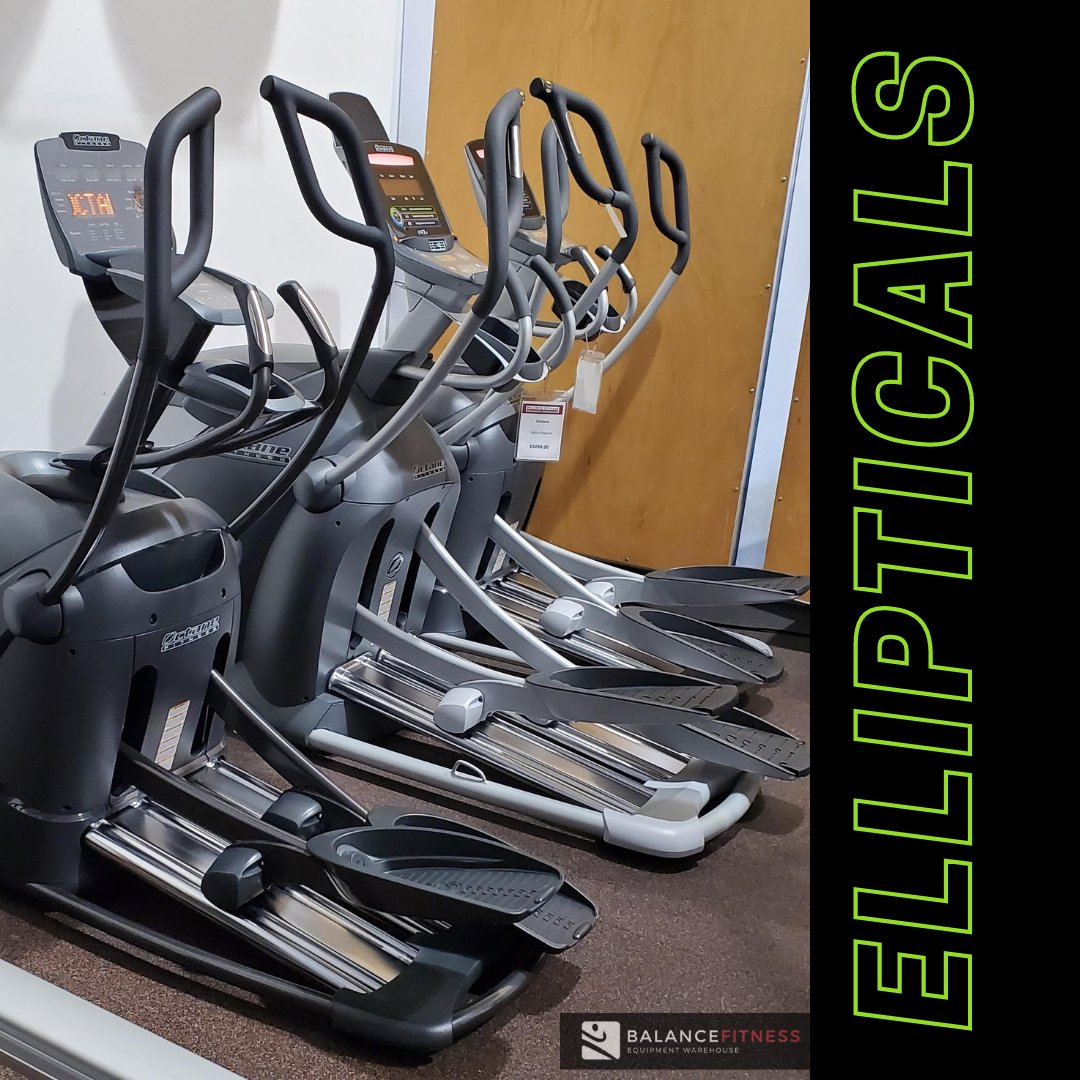 Award winning @octanefitness Ellipticals are here.  Loaded with valuable features to fuel your workouts and keep you getting results,  In stock and ready for pick up or delivery. Contact us today. #fitness #elliptical #workout #homegym #instock #balancefitnessequipment #bayarea