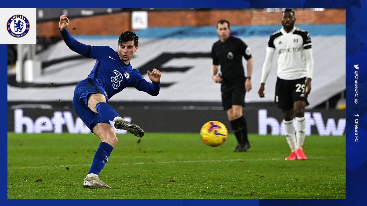 La imagen del día 📷  ✔️ El Chelsea volvió a sumar de a 3 en Premier League ✔️ 2da victoria en la semana ✔️ Mason Mount fue clave una vez más  ¡#VamosBlues! 💪💙