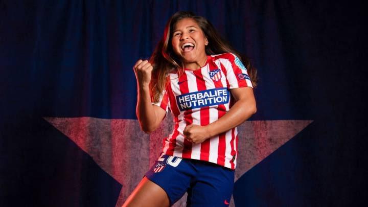 🏆¡PRIMER TÍTULO EN ESPAÑA! Leicy Santos se consagra como campeona de la Supercopa de España con el Atlético de Madrid tras vencer 3-0 al Levante. La colombiana fue titular y disputó 57 minutos en la final.