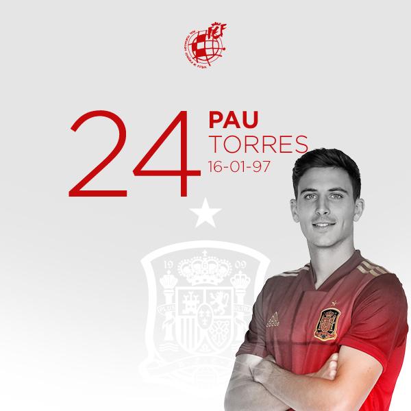 🥳 ¡¡Feliz cumpleaños, @pauttorres!!  👐🏻 No podemos dejar acabar el día sin felicitar al defensa central del @VillarrealCF y de la @SeFutbol en su 24 cumpleaños.  🎂 ¡¡¡MUCHÍSIMAS FELICIDADES!!!