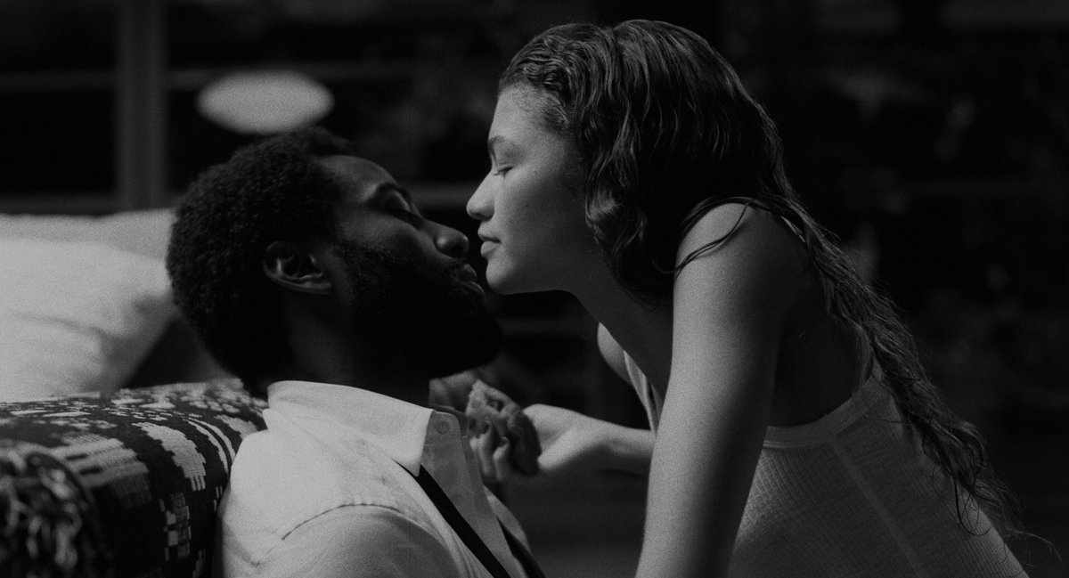 Well #MalcolmAndMarie is absolutely sensational.   Zendaya and John David Washington are electric, the cinematography luscious, and the way it analyses art, criticism and so much more was fascinating.   Exhausted after the experience but just want to feel it all over again