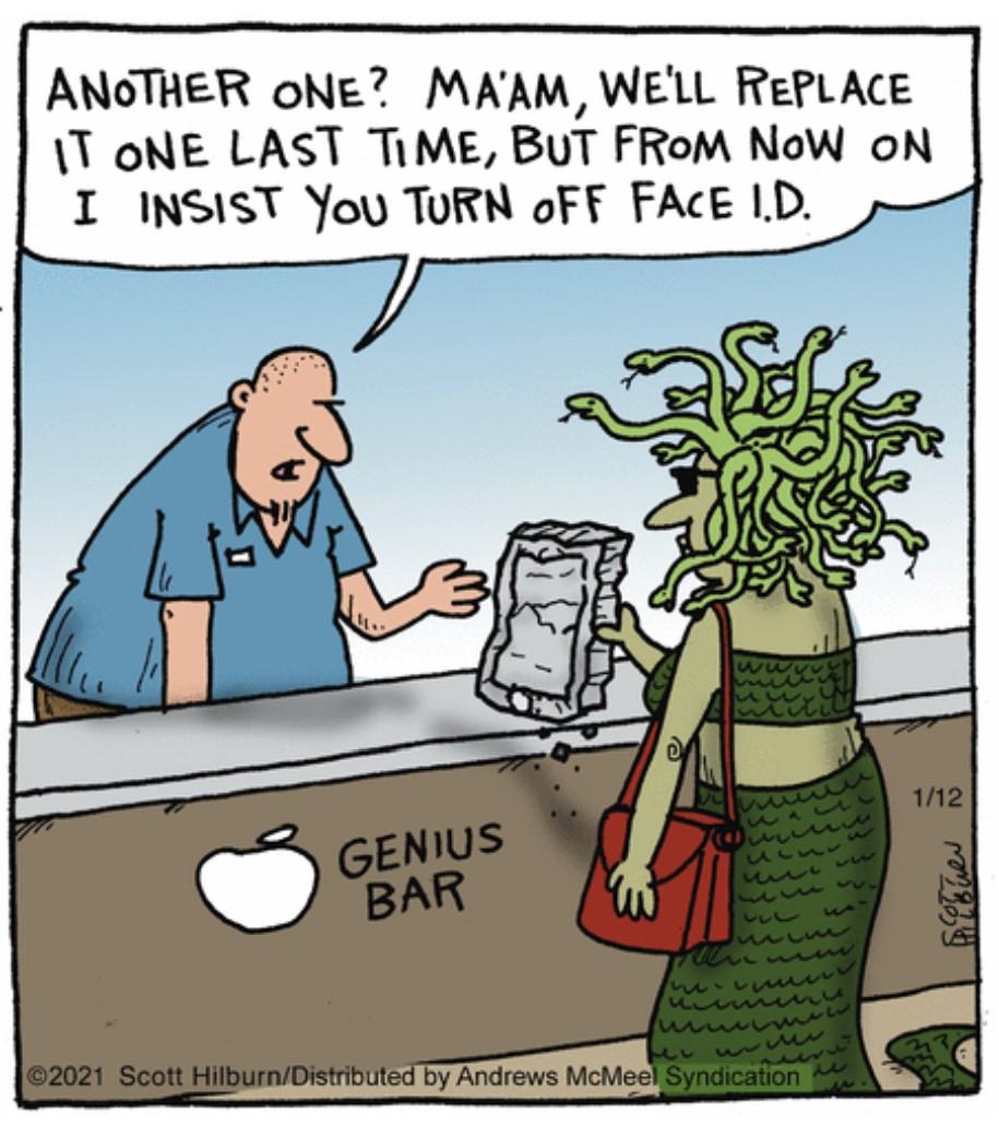 . #iPhone Problem & #Medusa   #comics #cartoon #lol #comedy #jokes #humor #hilarious #laughter #funny #fun #smile #laughing #lmao #haha