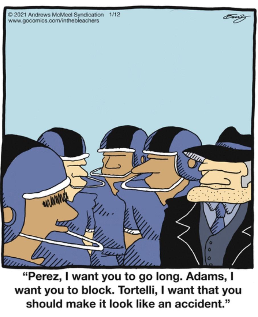 . Fixing #NFLPlayoffs2021   #comics #cartoon #lol #comedy #jokes #humor #hilarious #laughter #funny #fun #smile #laughing #lmao #haha