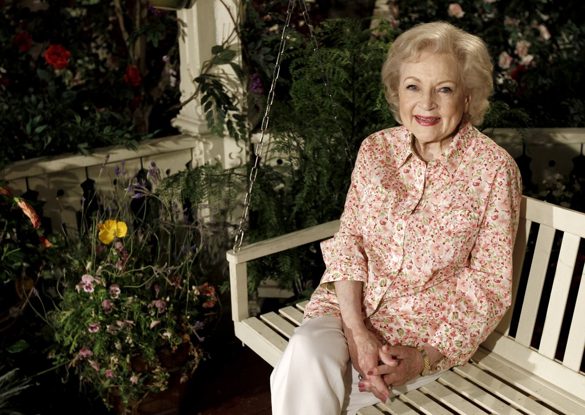 Replying to @CP24: Betty White will celebrate her 99th birthday on Sunday