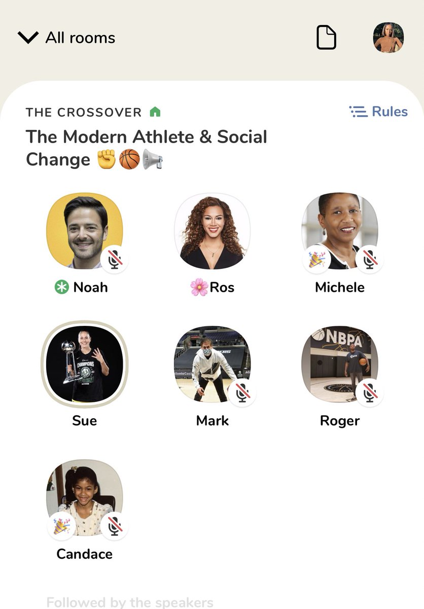 """""""We are the majority, in my league, of the minority in this country... We'd be doing a disservice to our community if we didn't speak up.""""  - @Candace_Parker in this incredible CH chat led by my sis, @ROSGO21."""