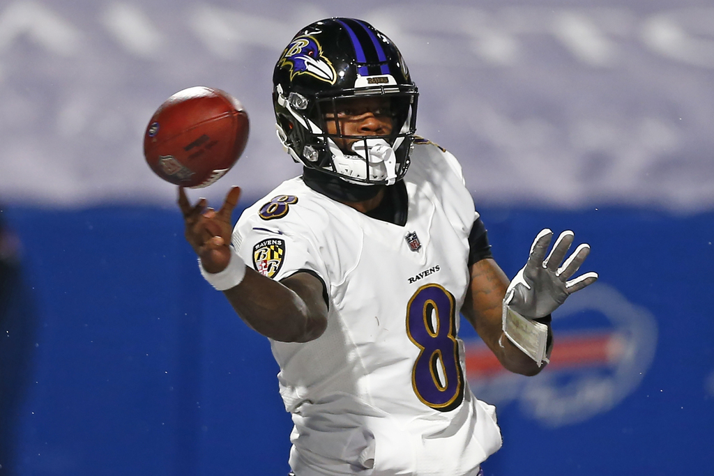 That was Lamar Jackson's 1st career red-zone interception.   He had 49 TD and 0 Int in the red zone in his career (including playoffs) entering the day.