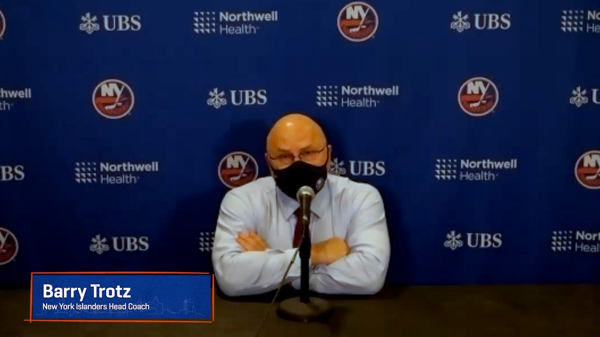 """""""This is a team loss for me.""""  Barry Trotz ⬇️"""