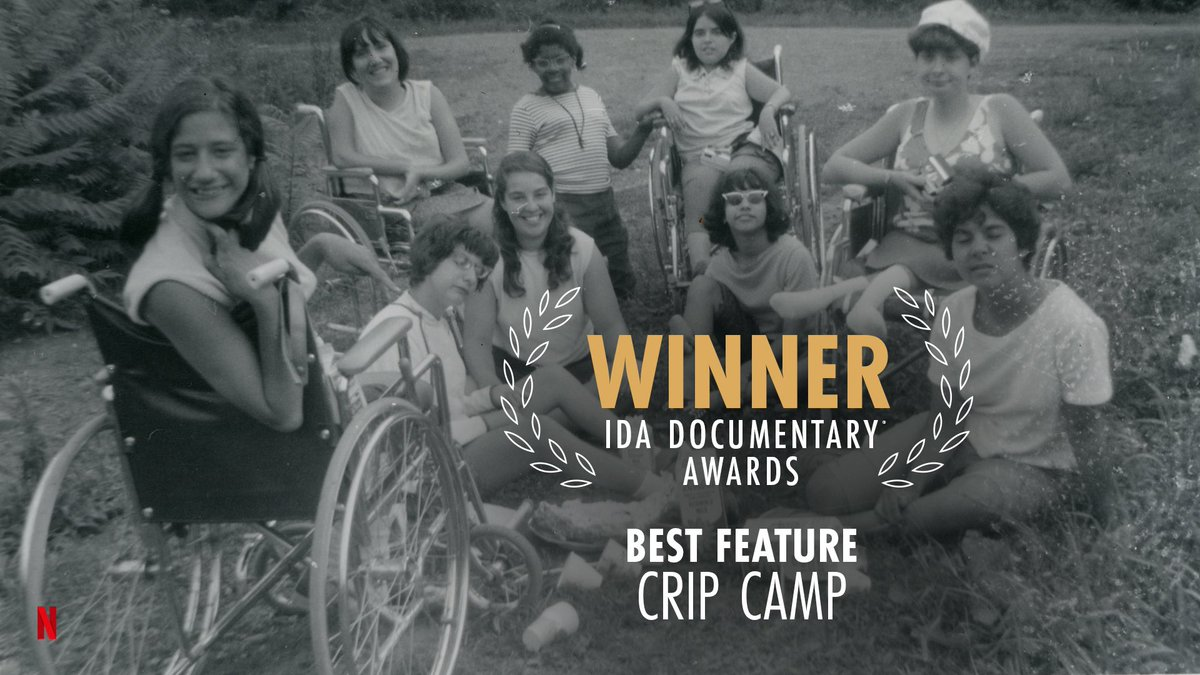 We are so very honored to win Best Feature, along with the ABC VideoSource Award, tonight at @IDAorg's Documentary Awards!