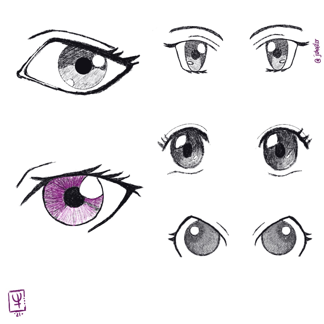 Practicando Ojos!!  #eyeliner #eye #eyedrawing #draw #procreate #procreateart #procreatedrawing #practice #practicemakesprogress #practicemakesperfect #artistsoninstagram #artoftheday #sketch #sketching #cartoonart #anime #kawaii #jisha2021 #mexico