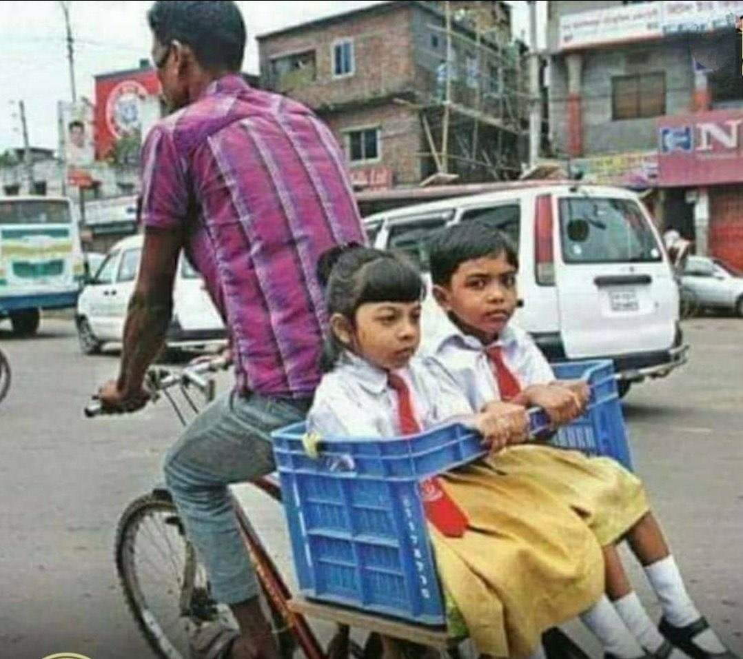 Fathers love .. he may be poor for world but he is always rich for his son n daughter ...❤️ #Father #rich