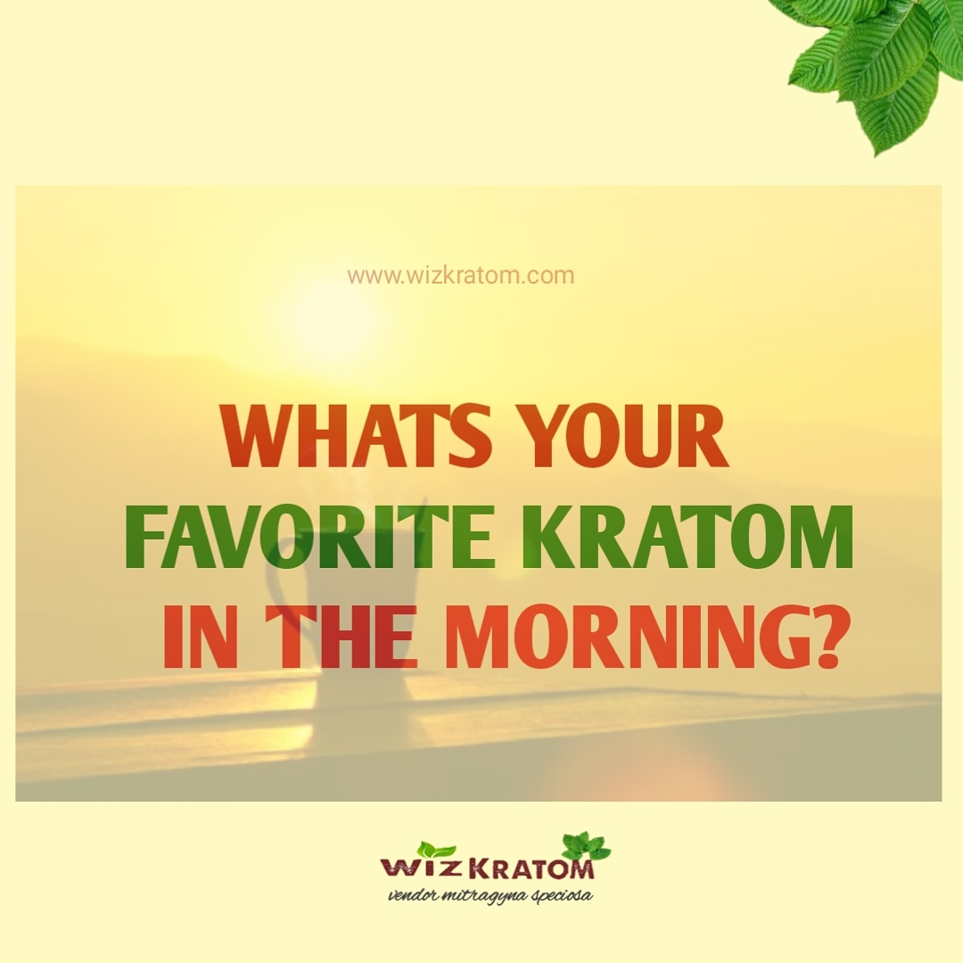 Whats your favorite kratom in the morning??   official@wizkratom.com  #wizkratom #kratom #kratomusa🇱🇷 #kratomcommunity #kratomshop #kratomlife #kratomlegal #like4like #cool #vsco #likeforlike #picoftheday #sunset #likes #healthy #cute #pics #iphoneography
