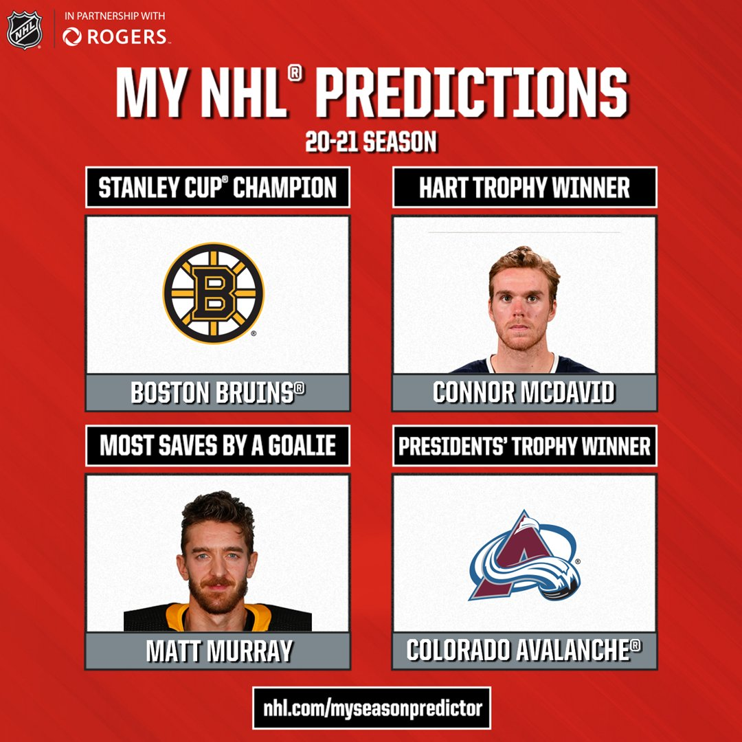 Well, I did this. My pick for Stanley Cup champion EVERY season is Boston. #BruinsFam #NHLBruins #Rogers