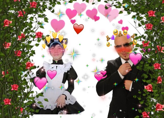 #notmyhabbo #HAPPYBIRTHDAYPITBULL what a happy couple