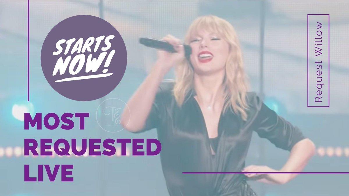 @TSonRadio @TheSwiftSociety @OnAirRomeo @MostRequestLive @taylorswift13 Hi there @OnAirRomeo @MostRequestLive my request is #willow by #TaylorSwift on #MostRequestedLive @taylorswift13