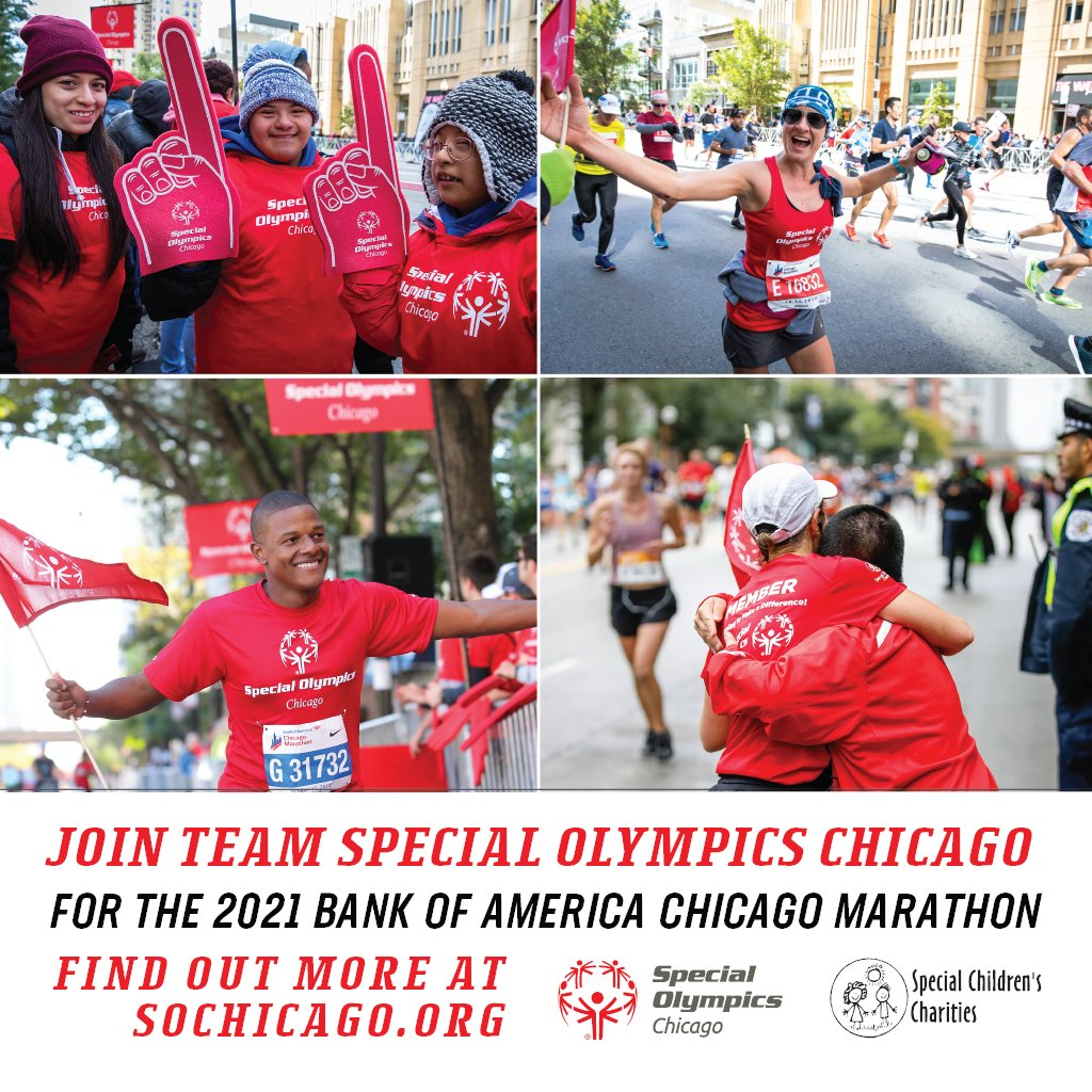 General registration for the Bank of America Chicago Marathon is now open through February 18th! Want to make sure you get a guaranteed spot? Register with #TeamSpecialOChicago today and receive guaranteed entry! https://t.co/LRwx3B0qKB https://t.co/baptxqEvpl