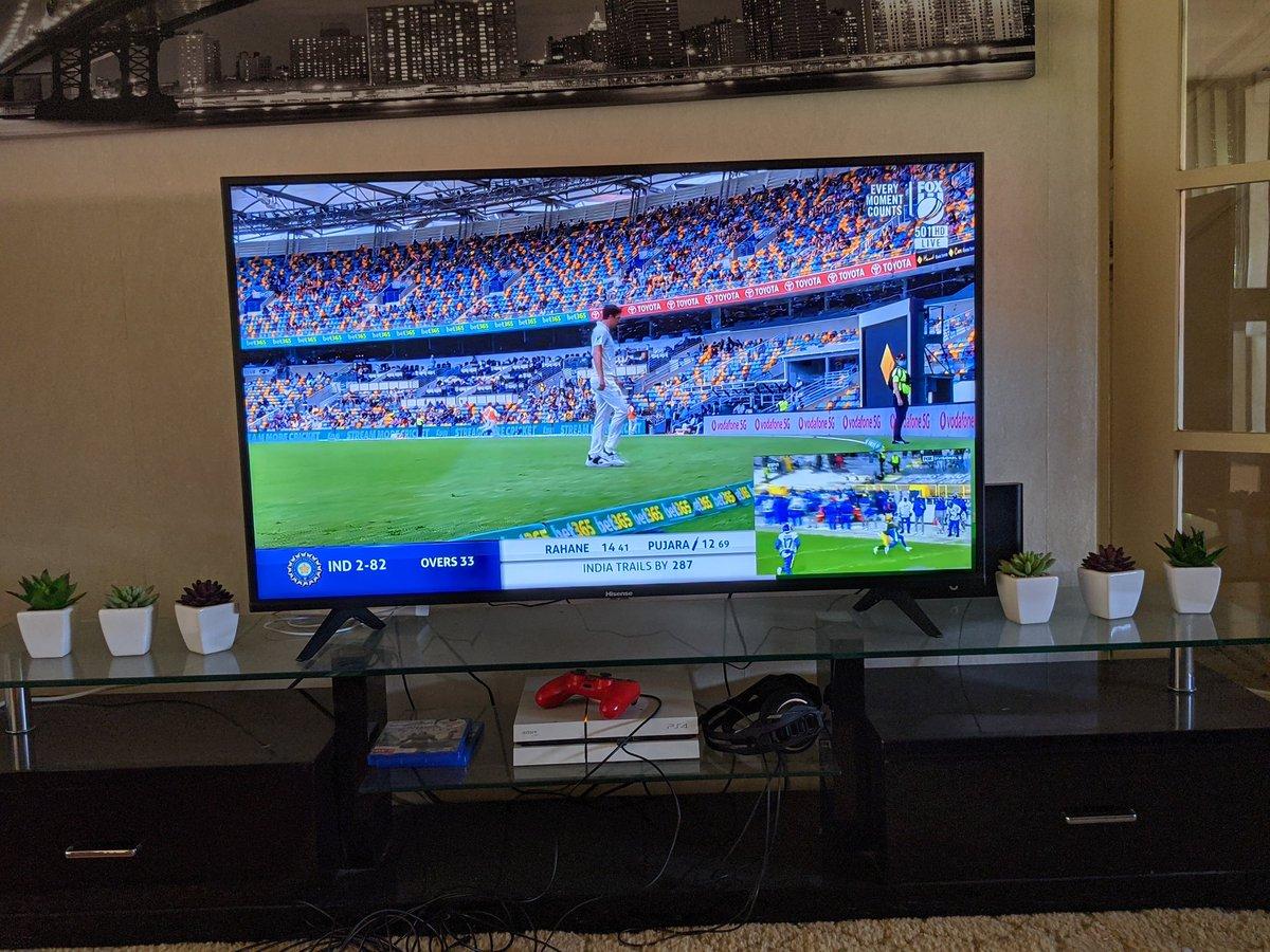 Cricket #AUSvsIND and NFL #LARvsGB via @kayosports