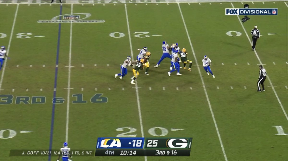 And @showtimesully10 ends that drive, and Rams have to punt it away.   #LARvsGB #DivisionalRound