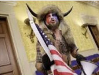 trumps horned Qanon shaman is still in jail and bail has been denied. Sad 😞