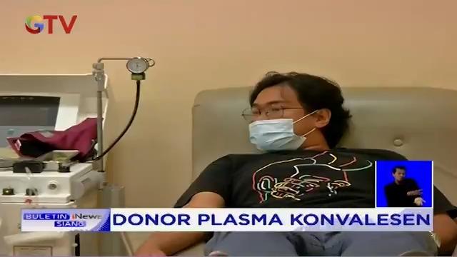 Terapi plasma darah dari penyitas COVID-19 (Virus Corona) dipercaya dapat membantu proses penyembuhan pasien yang terkena Virus Corona. LNA  #GTVNews #Terapi #PlasmaKonvalesen #COVID19 #VirusCorona