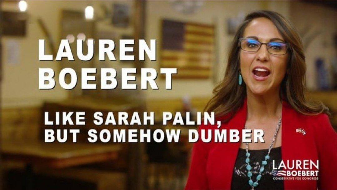 Replying to @AmyAThatcher: Lauren Boebert needs to be under FBI surveillance!