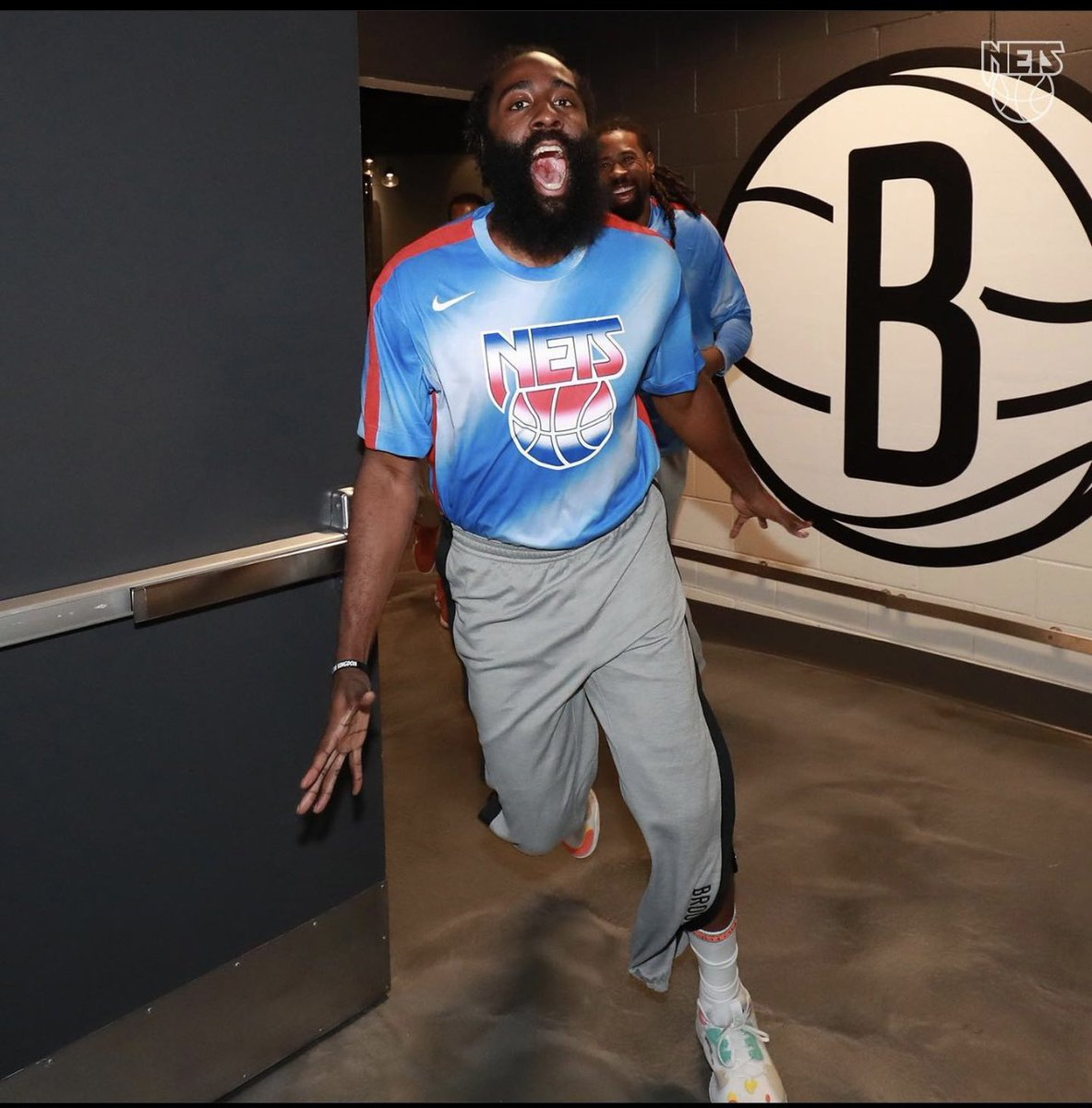 Let's talk about this narrative: James Harden looks happy and there's no price tag for that feeling. Could he have handle things better. YES! but couldn't we all. Im happy for this black man 👏🏾