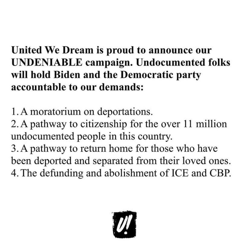 .@UNITEDWEDREAM has launched a campaign to pass progressive immigration reform and make sure Biden delivers what immigrant communities need! Let me know if you want to help.