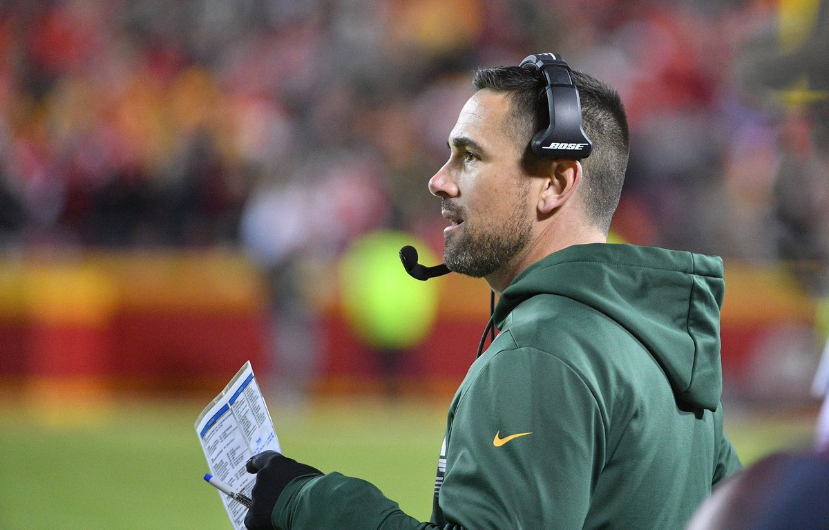 Let's all appreciate coach Matt LaFleur more. He took the packers to back to back NFCC games, and possibly the Super bowl.   And it's only his second year as HC. #GoPackGo