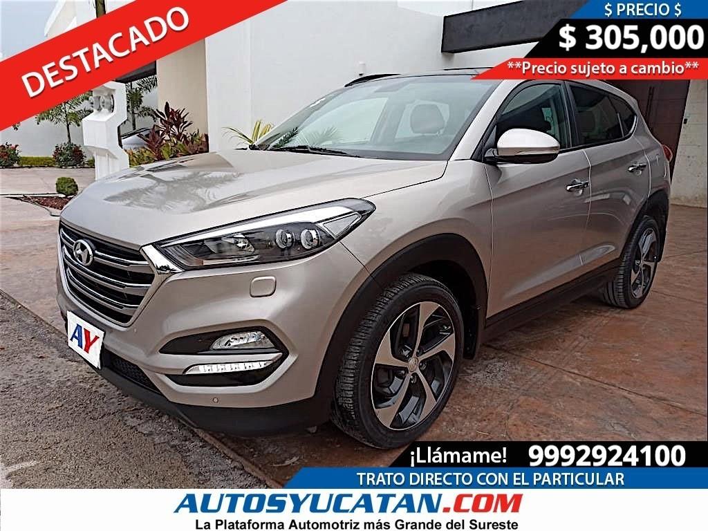 Hyundai Tucson Limited 2017 - SEMINUEVO - Mérida Yucatán.   #AnunciaTuAuto #AutosYucatan #AutosMerida #Hyundai #Tucson