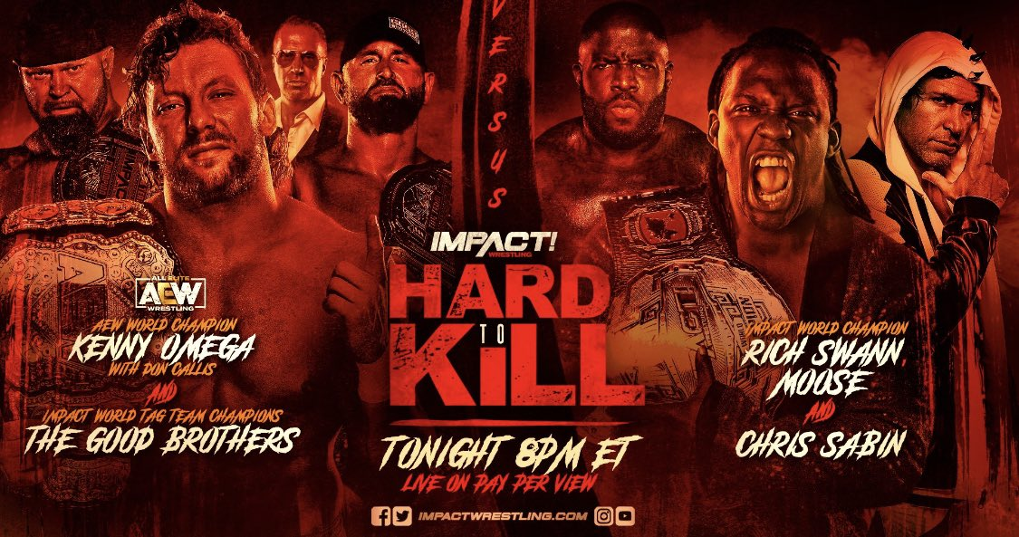 I have two Impact Hard to Kill PPV codes to use on @FiteTV  To enter  (1) follow @sr_torch  (2) follow @pwtorch  (3) RT this tweet   Winners will be chosen right before the show begins
