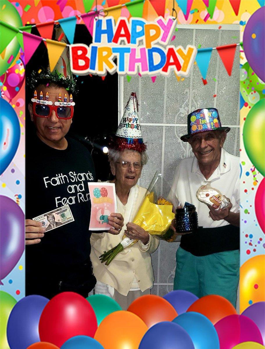 Celebrating my Mom's 90th Birthday! Happy Birthday!