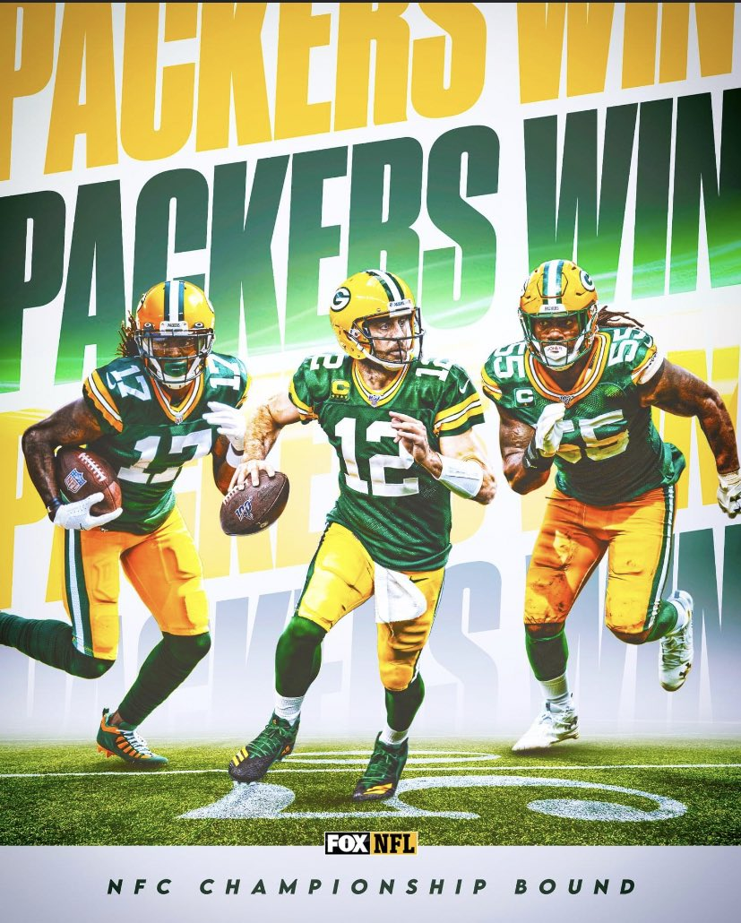 PACKERS WIN 32-18 ‼️   #GoPackGo  #NFL #NFLDivisional 🏈