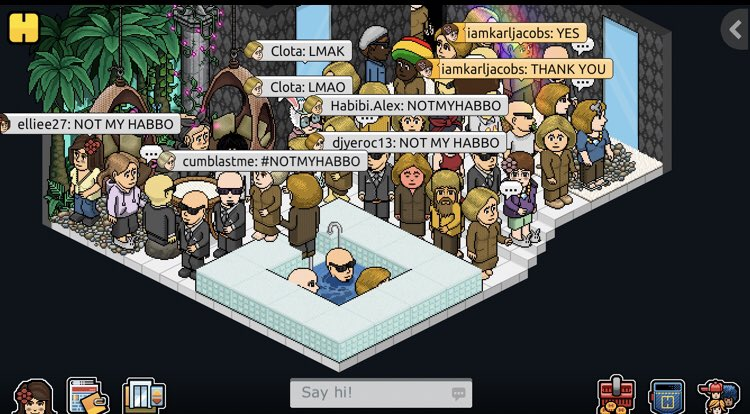 #NOTMYHABBO THESE ARE ALL THE SCREENSHOTS I GOT FROM THE RAID THIS WAS LITERALLY SO MUCH FUN