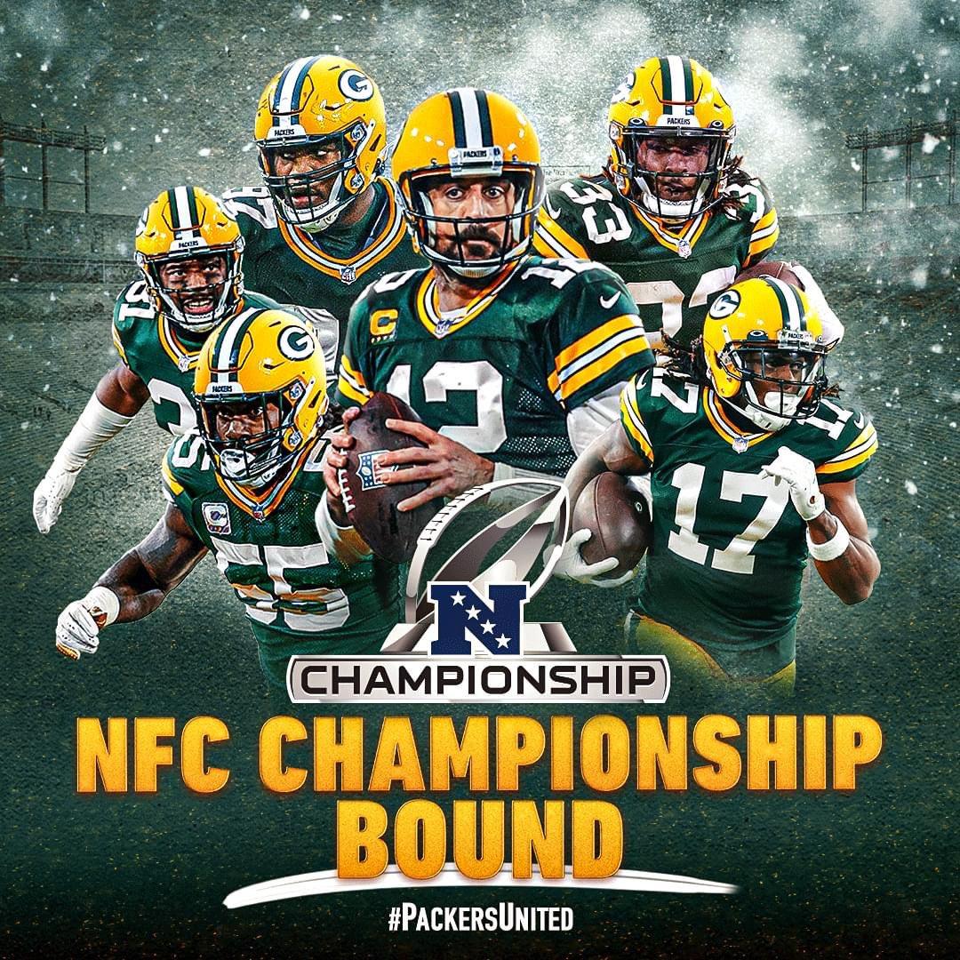 Job Done 🙌🏻💚💛  #GoPackGo #LARvsGB #PackersUnited #Packers