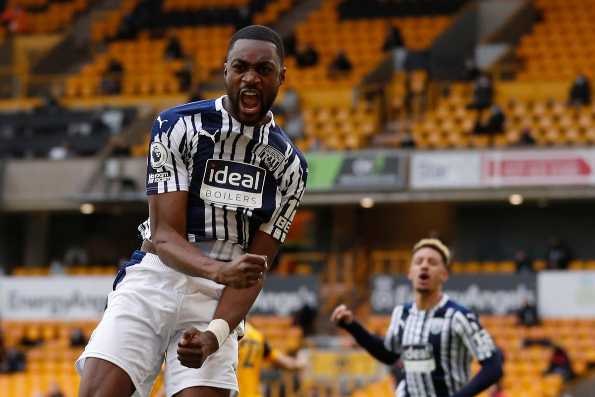 🔵⚪️ Semi Ajayi's goal for @WBA was their first via a throw-in situation in the #PL since Graham Dorrans vs QPR in April 2012  #WOLWBA