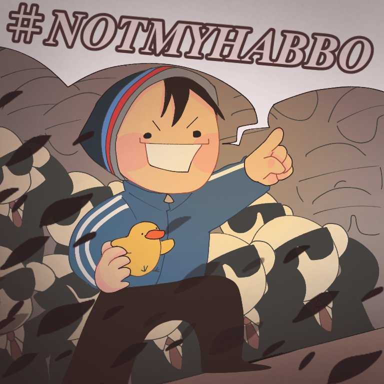 #NOTMYHABBO Every games r literally dead