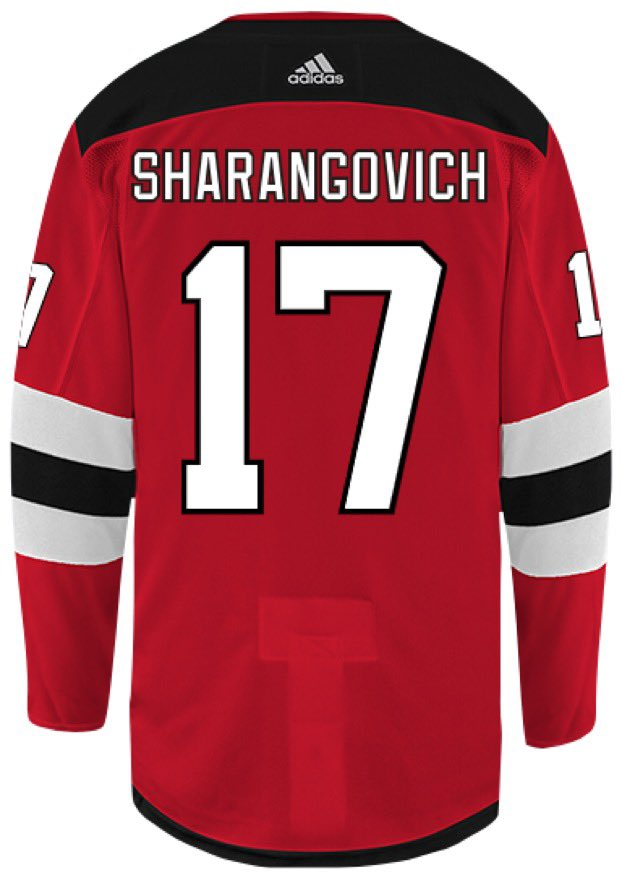 More like SharanGOALvich!!!  @LetsGoDevilsPOD I can't wait to talk about this game on Sunday night and how I can possibly replace the name plate on that dusty old #17 jersey I have! @NJDevils #NJDevils #letsgodevilspodcast