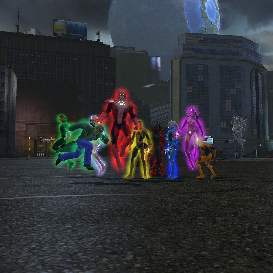 Doing some old raids for missing statues #DCUO #10thanniversary #batman #greenlantern